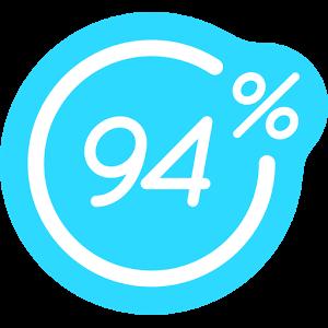 94%, de preguntas y respuestas